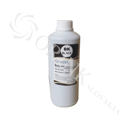 HP universal ink  dye BLACK ORINK 100 ml